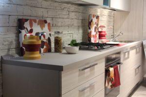 modern kitchen close up